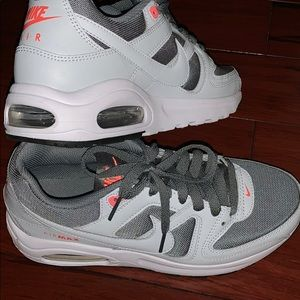 Nike's shoes.